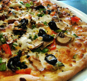 Pizza Vegetal Almunecar